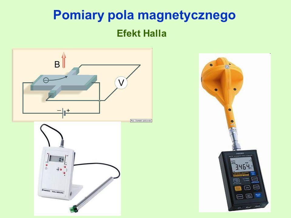 Pomiary pola magnetycznego Efekt Halla