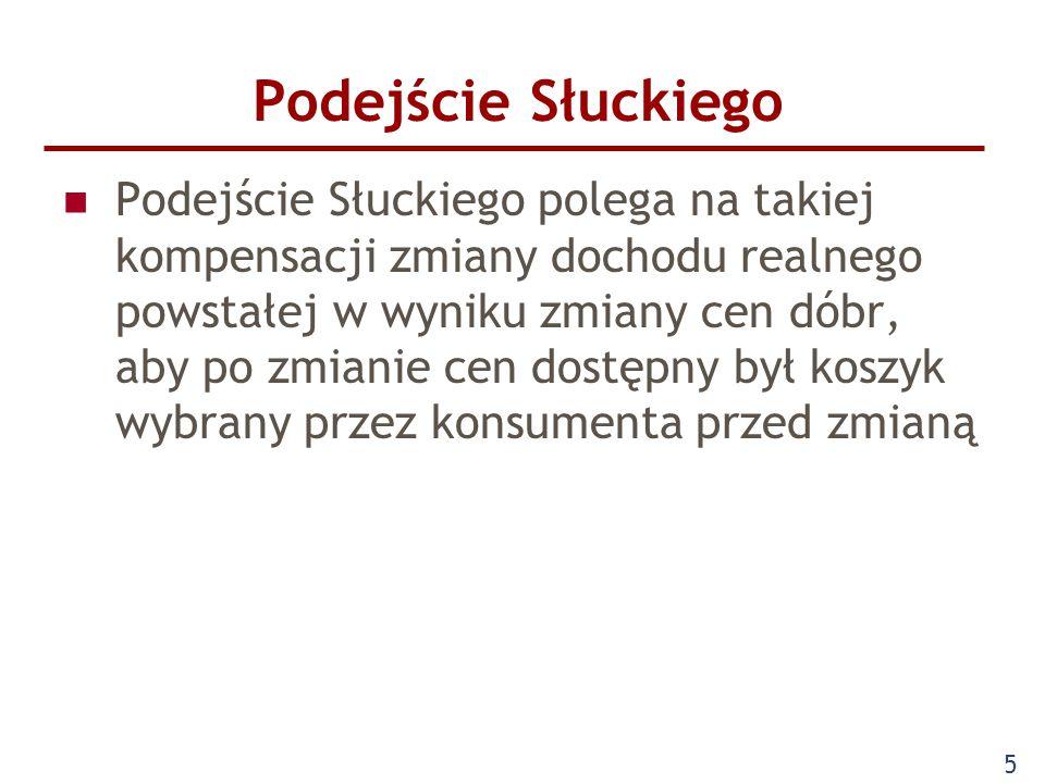6 Podejście Słuckiego