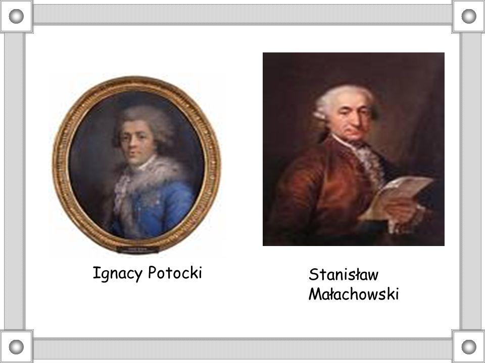 Ignacy Potocki Stanisław Małachowski