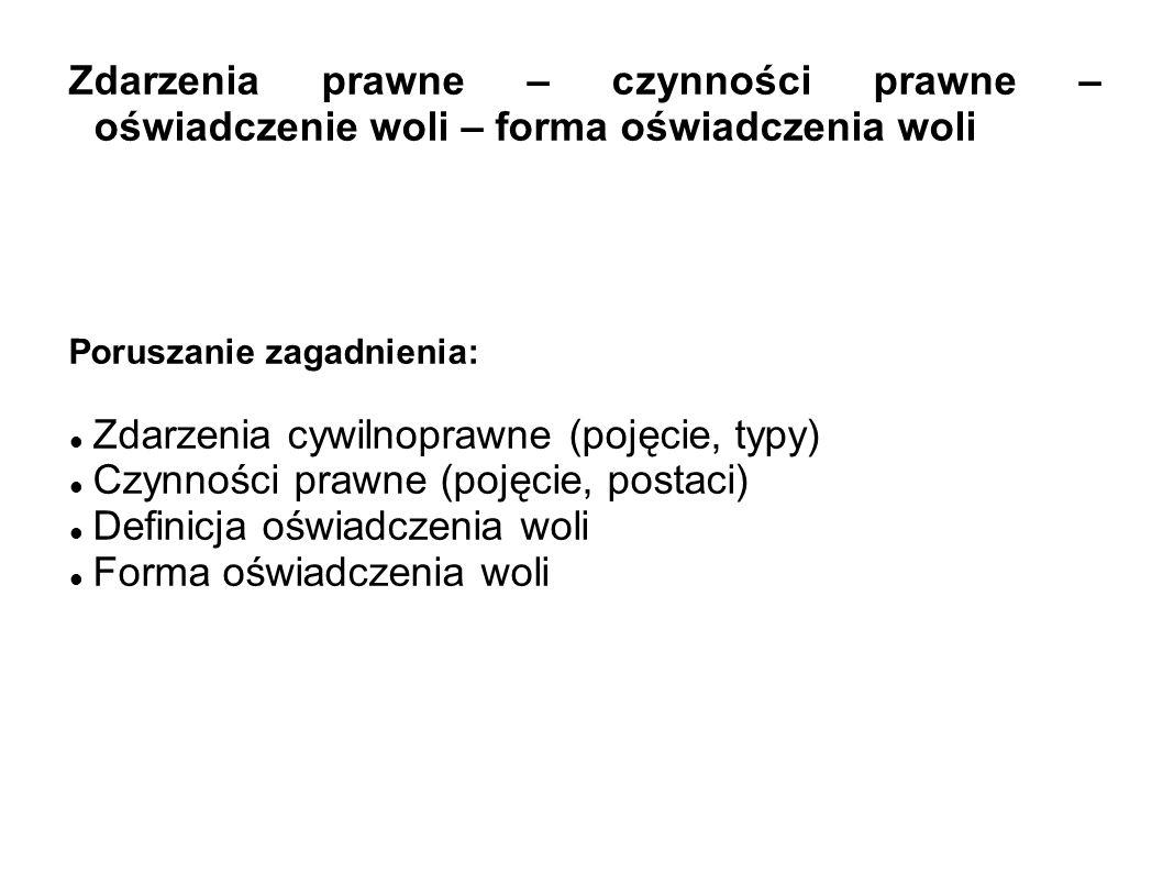 ze względu na moment wystąpienia skutków czynności prawnej MIĘDZY ŻYJĄCYMI (inter vivos) NA WYPADEK ŚMIERCI (mortis causa)
