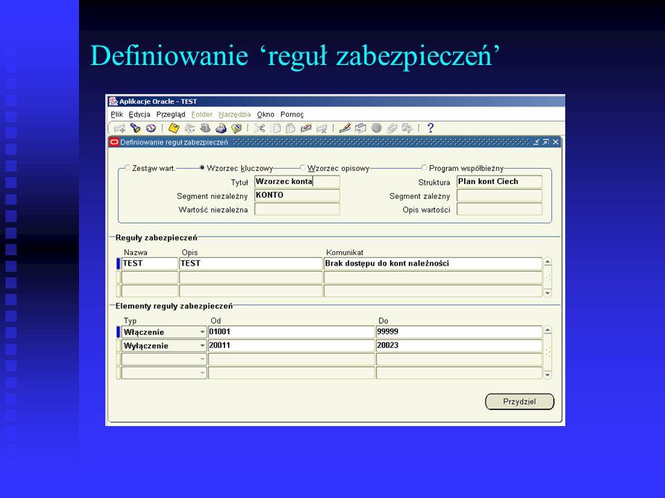 Tak zdefiniowaną regułę należy następnie przydzielić do uprzednio zdefiniowanej autoryzacji.