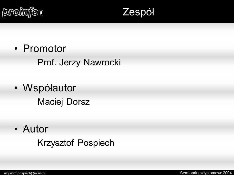 Promotor Prof.
