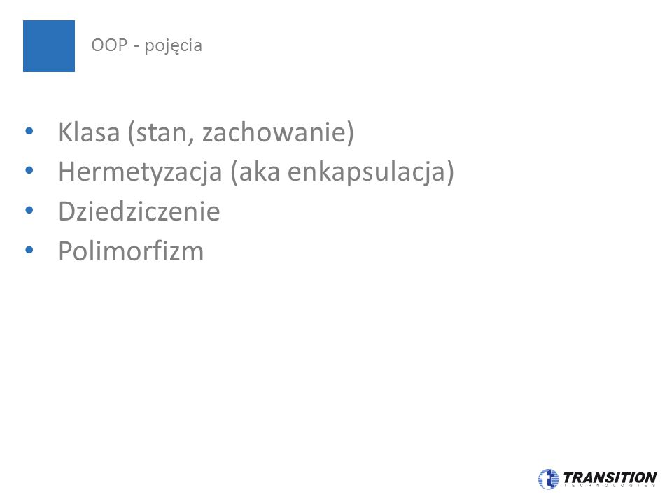 Zwierzęta jako przykład polimorficzny OOP – szybki przykład polimorfizmu