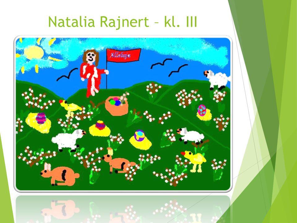 Natalia Rajnert – kl. III