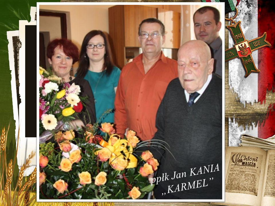 "ppłk Jan KANIA ""KARMEL"