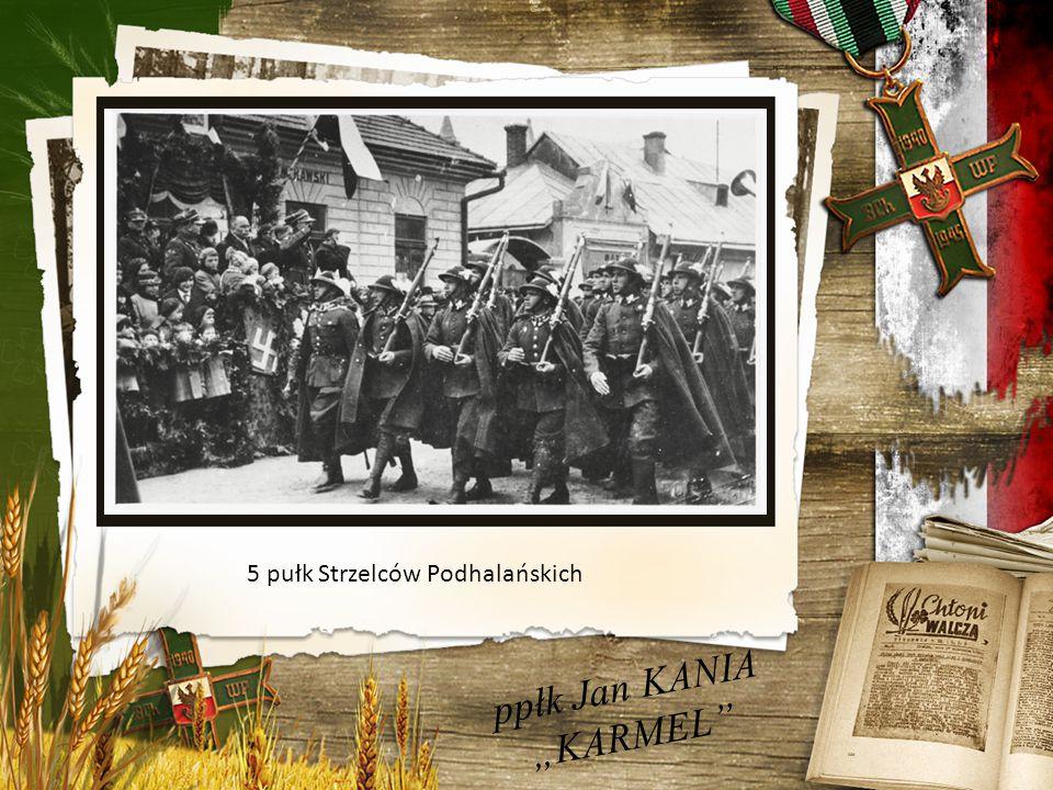 """ppłk Jan KANIA """"KARMEL Szkoła podoficerska – 1937 / 1938r."""
