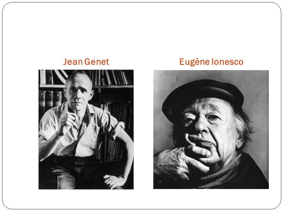 Jean GenetEugène Ionesco