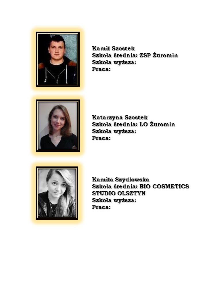 KLASA III A Wychowawca: Renata Otrembska 1.Kamil Bukowski 2.