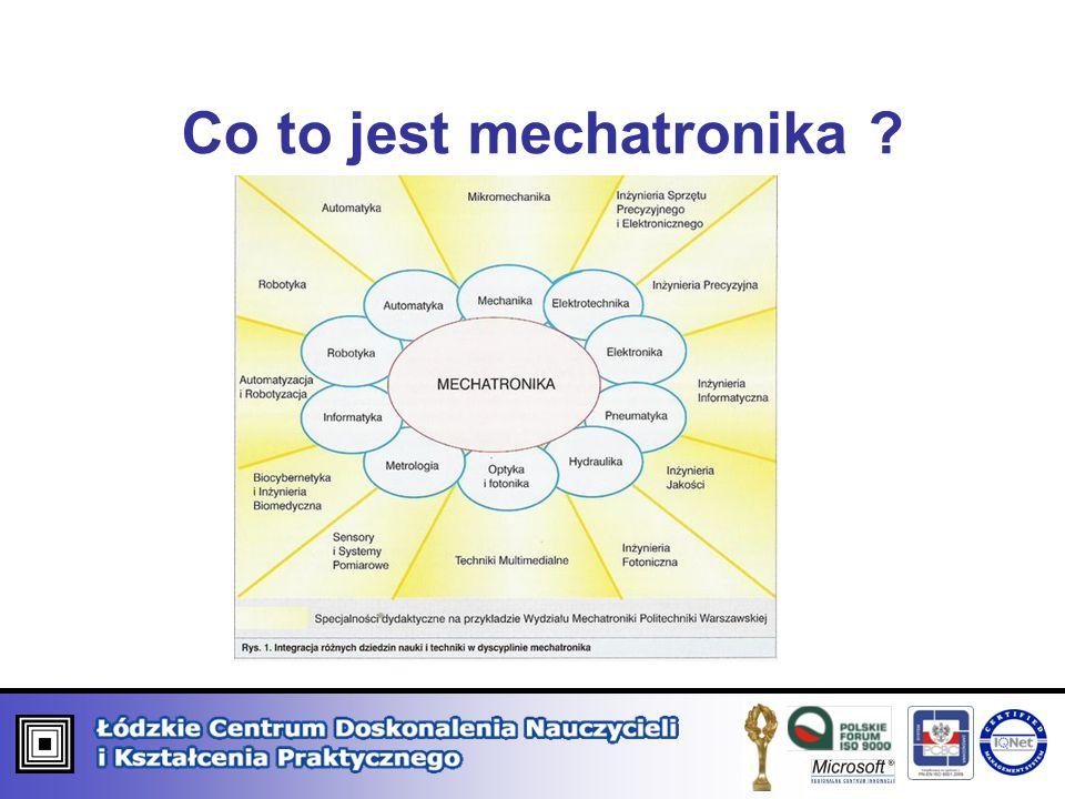 Co to jest mechatronika ?