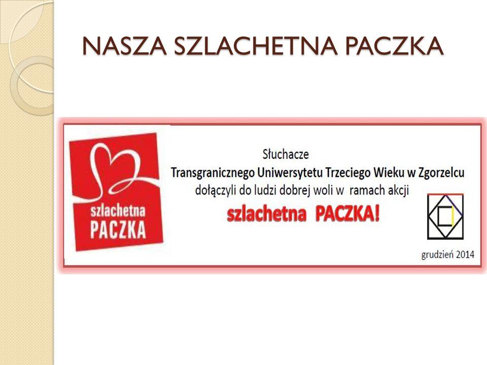 NASZA SZLACHETNA PACZKA