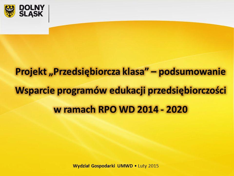 Wydział Gospodarki UMWD Luty 2015