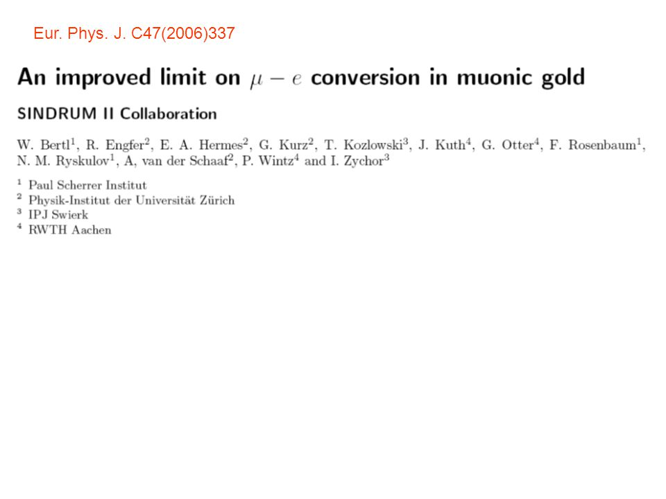 Eur. Phys. J. C47(2006)337