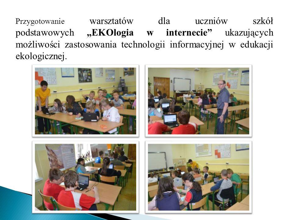 """1.Przygotowanie kursu e-learningowego """"Ja i środowisko na platformie Moodle 2."""