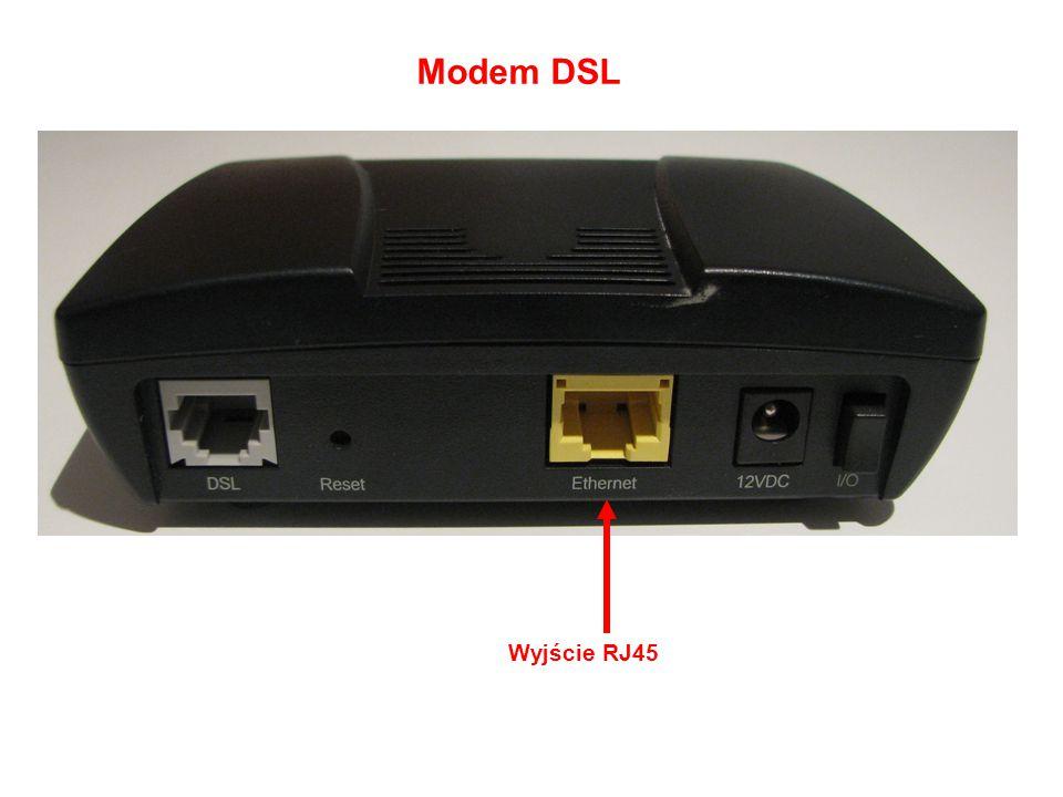 Modem DSL Wyjście RJ45