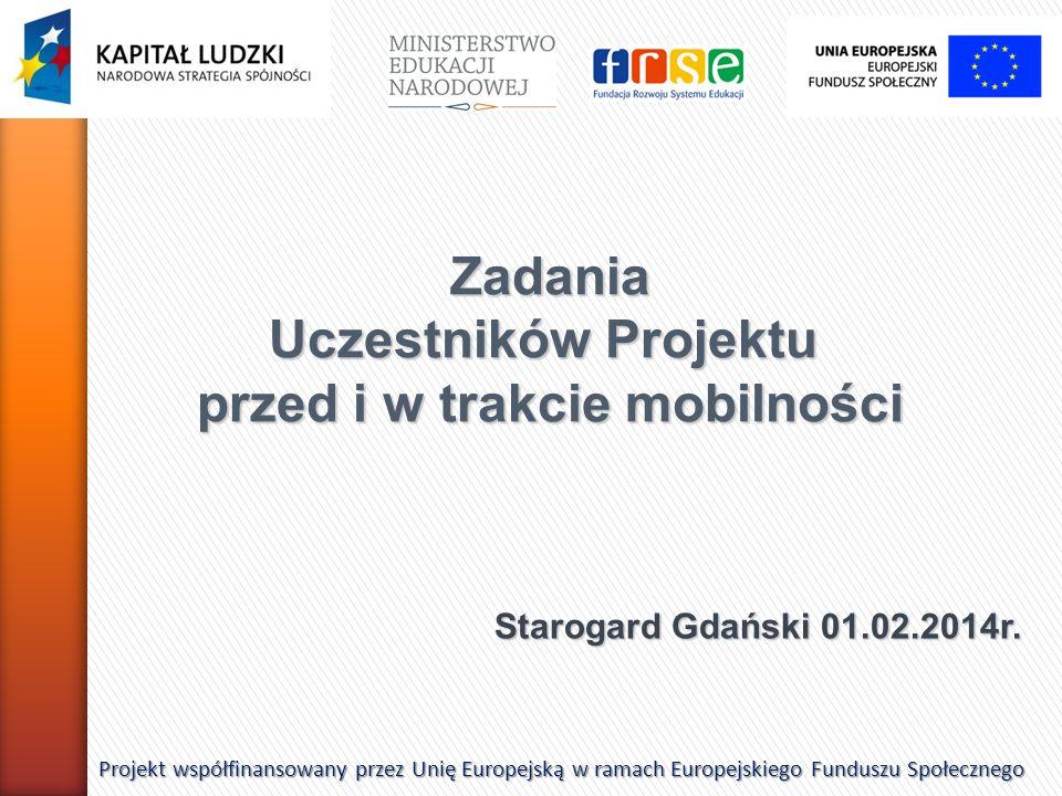 Starogard Gdański 01.02.2014r.