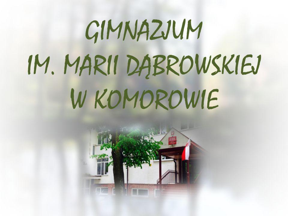 INFORMACJE Gimnazjum im.