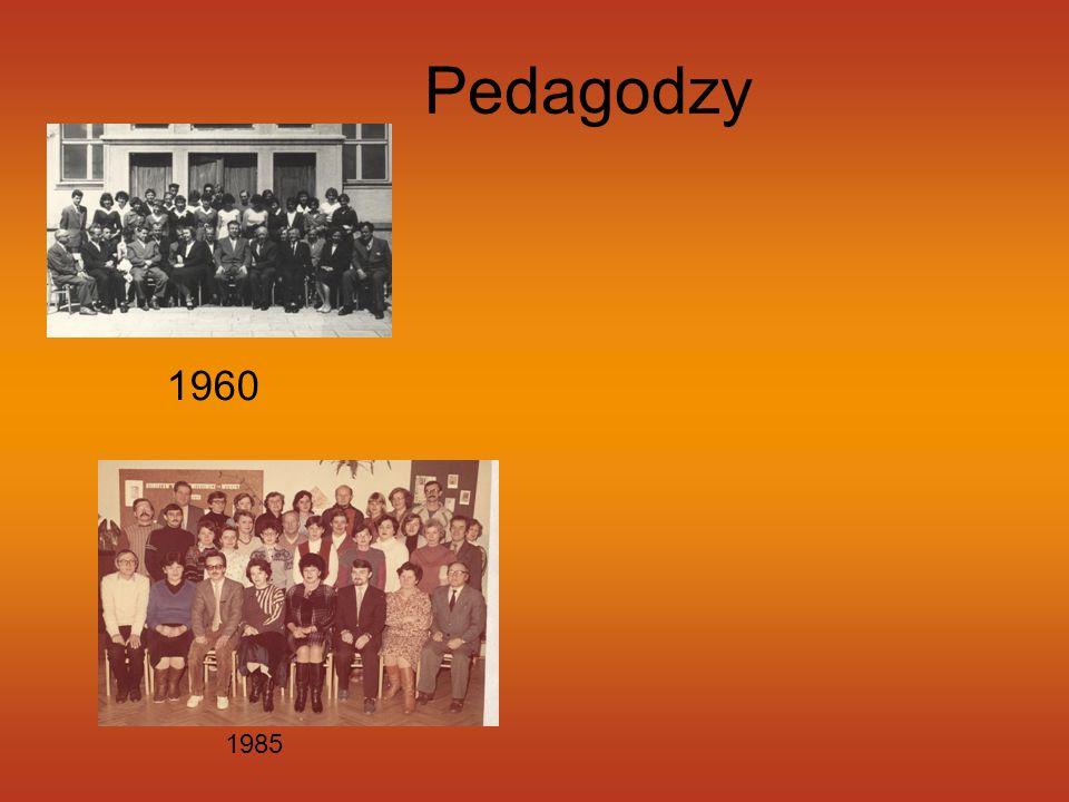 Pedagodzy 1960 1985