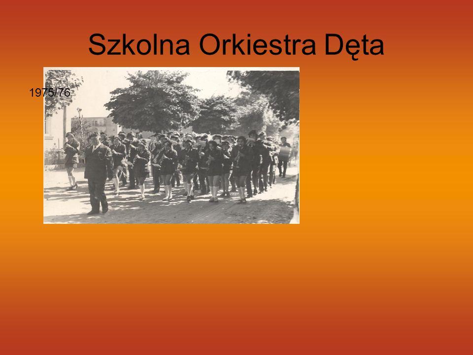 Szkolna Orkiestra Dęta 1975/76