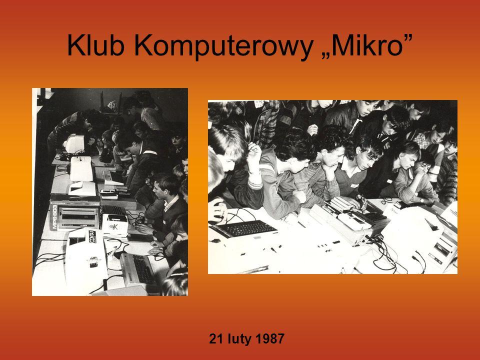"Klub Komputerowy ""Mikro"" 21 luty 1987"