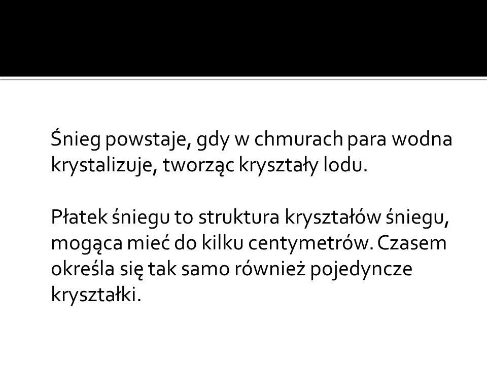http://pl.wikipedia.org/wiki/%C5%9Anieg http://www.przedszkole-lyon.com/index.php/Nauczanie-przedszkolne/Wiersze-i- zabawy-slowne/wiersze-o-zimie.html http://www.gnosis.art.pl/iluminatornia/sztuka_o_inspiracji/pieter_brueghel_st/brueh el_st_mysliwi_na_sniegu.htm http://wolnelektury.pl/katalog/lektura/monachomachia.html#m1271184408164- 1543451204 http://wolnelektury.pl/katalog/lektura/konrad-wallenrod.html#m1312323438510- 117822564