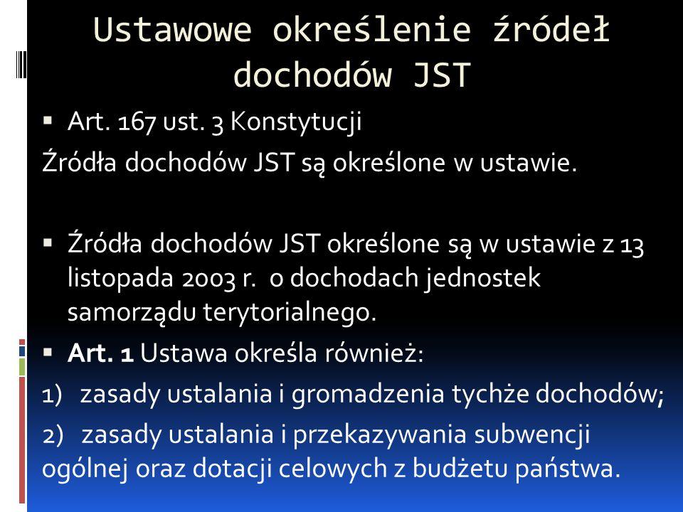 Dochody podatkowe gminy  Podatki przekazane gminom pobierane są przez: 1.