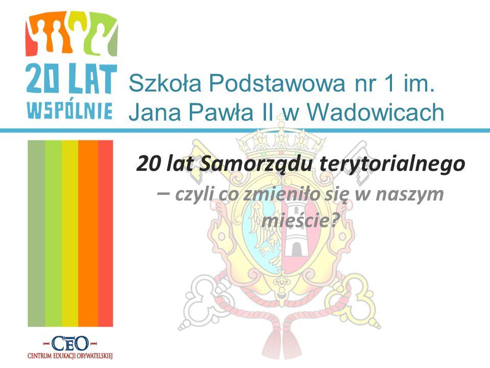 Osoby, które udzieliły nam wywiadu… Stanisław Kotarba - rzecznik magistratu w Wadowicach Agnieszka Handzlik - mieszkanka Wadowic, nauczyciel muzyki i WF