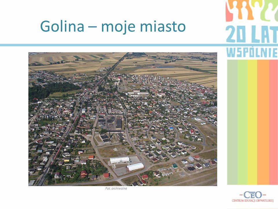 Golina – moje miasto Fot. archiwalne