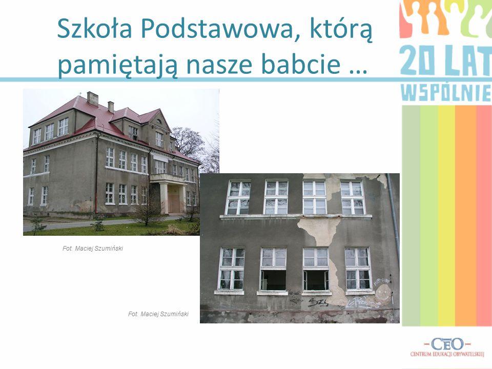 Szkoła Podstawowa, którą pamiętają nasze babcie … Fot. Maciej Szumiński