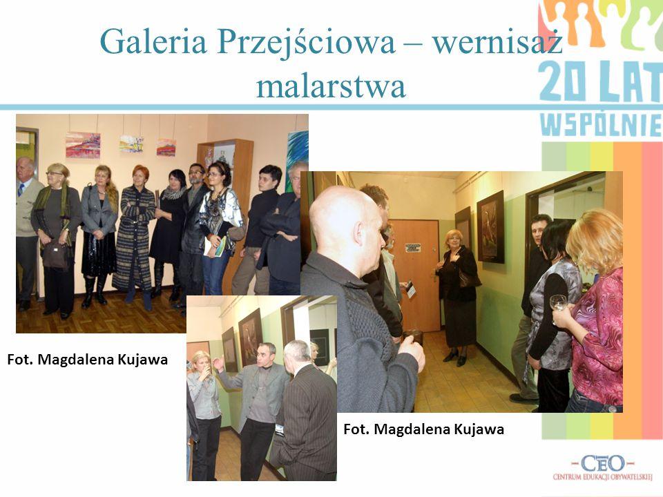 Galeria Przejściowa – wernisaż malarstwa Fot. Magdalena Kujawa