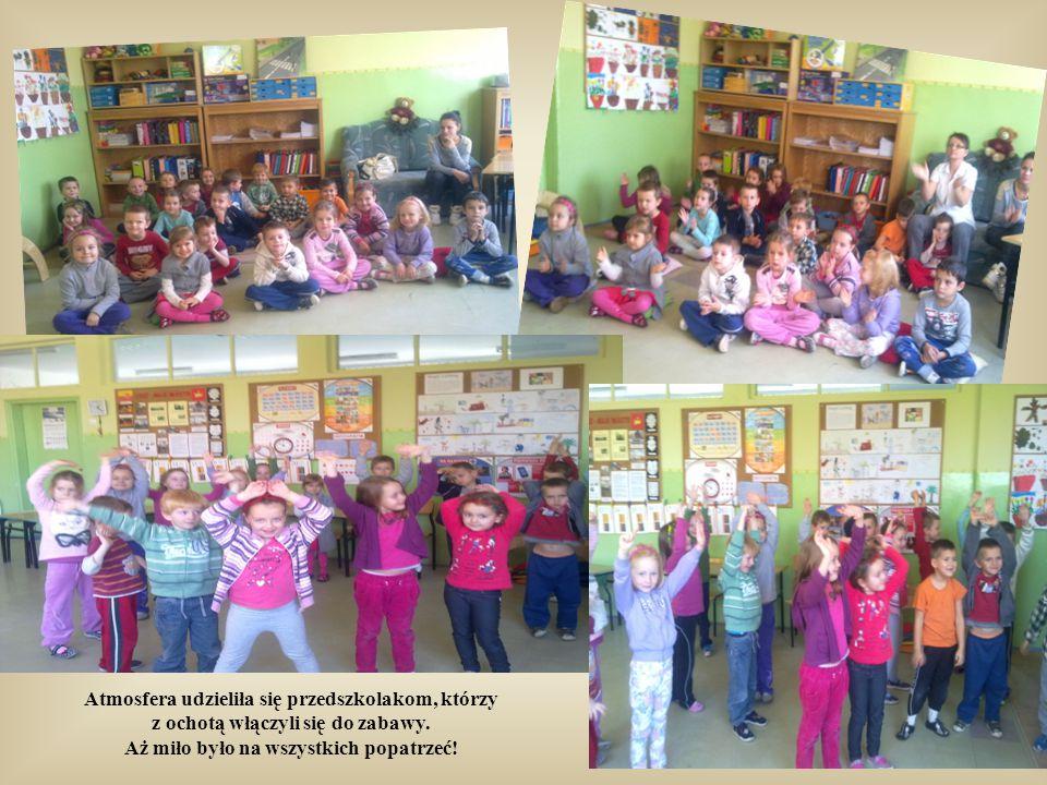 """Piosenka Karin Stanek """"Autostop"""" wprowadziła uczniów w wesoły nastój."""