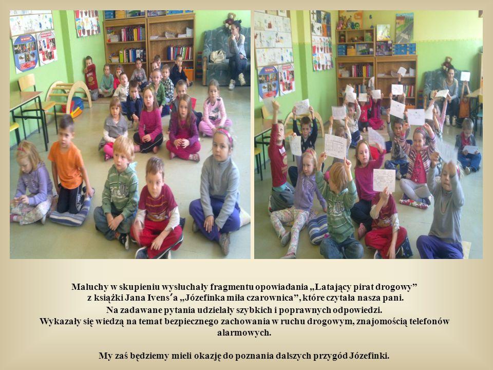 Atmosfera udzieliła się przedszkolakom, którzy z ochotą włączyli się do zabawy. Aż miło było na wszystkich popatrzeć!