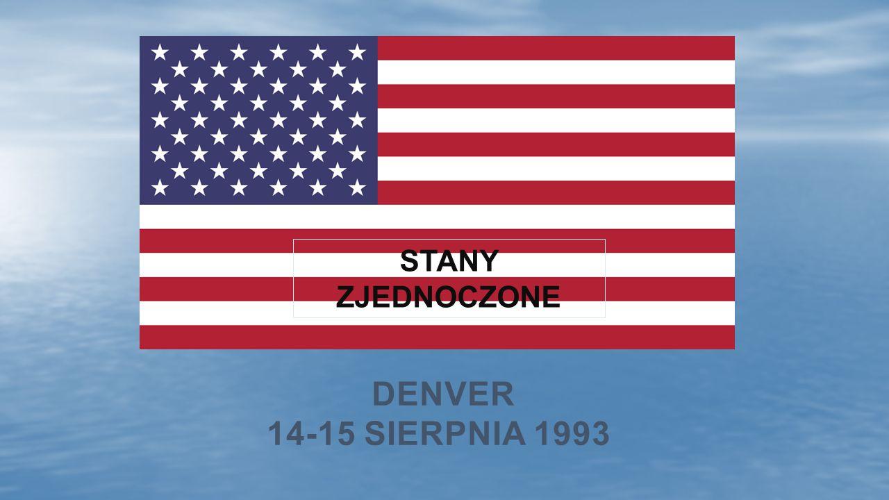 DENVER 14-15 SIERPNIA 1993 STANY ZJEDNOCZONE