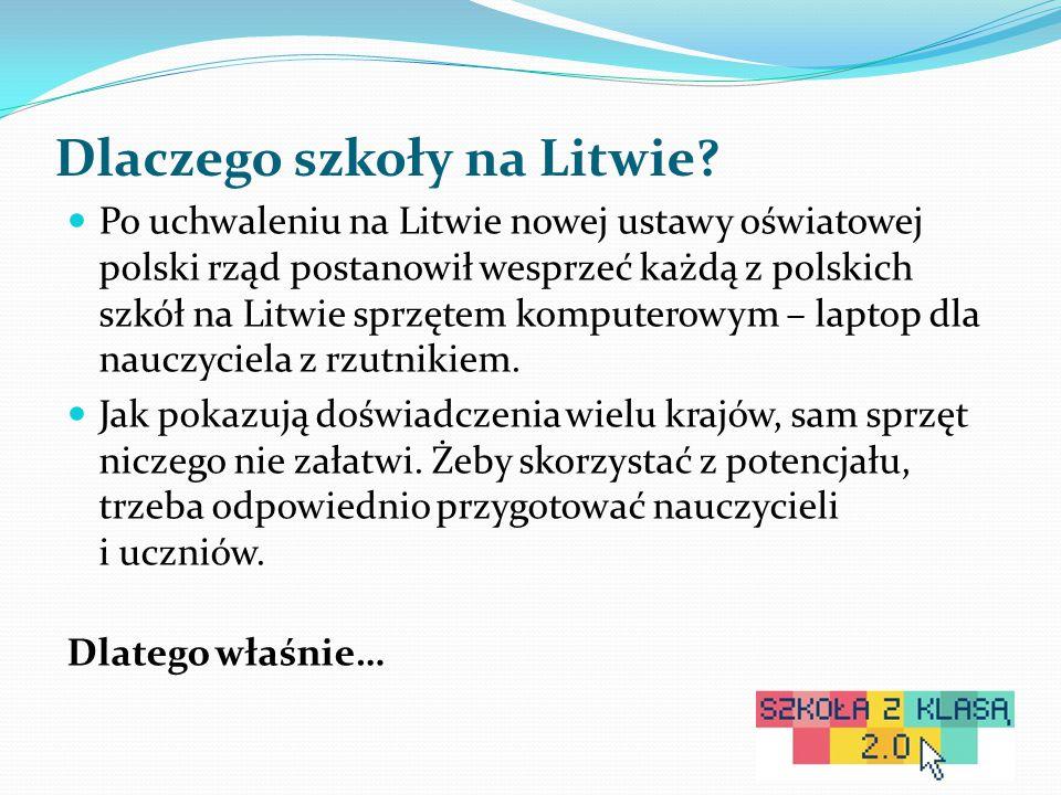 Dlaczego szkoły na Litwie.