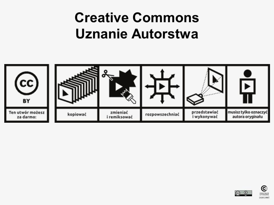 Creative Commons Uznanie Autorstwa