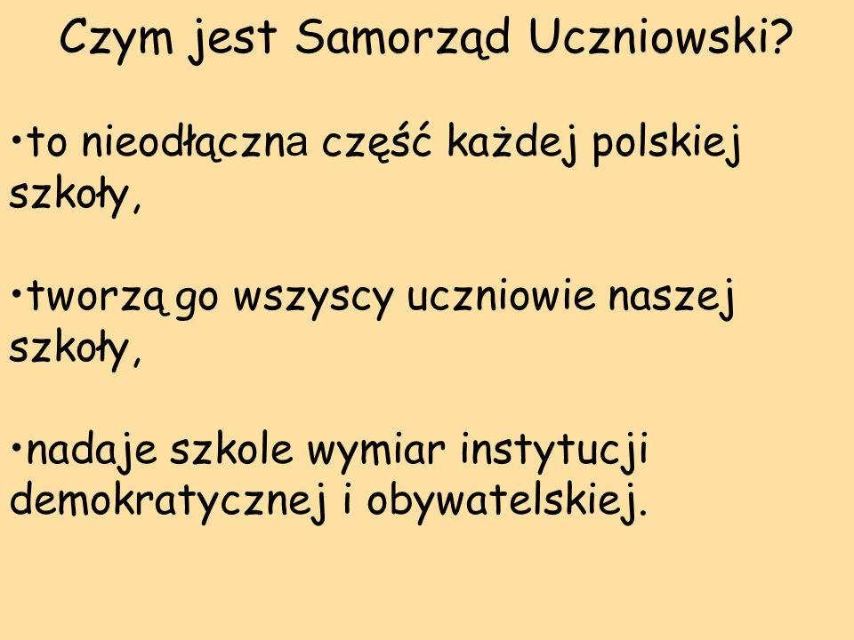 Czym jest Samorząd Uczniowski.