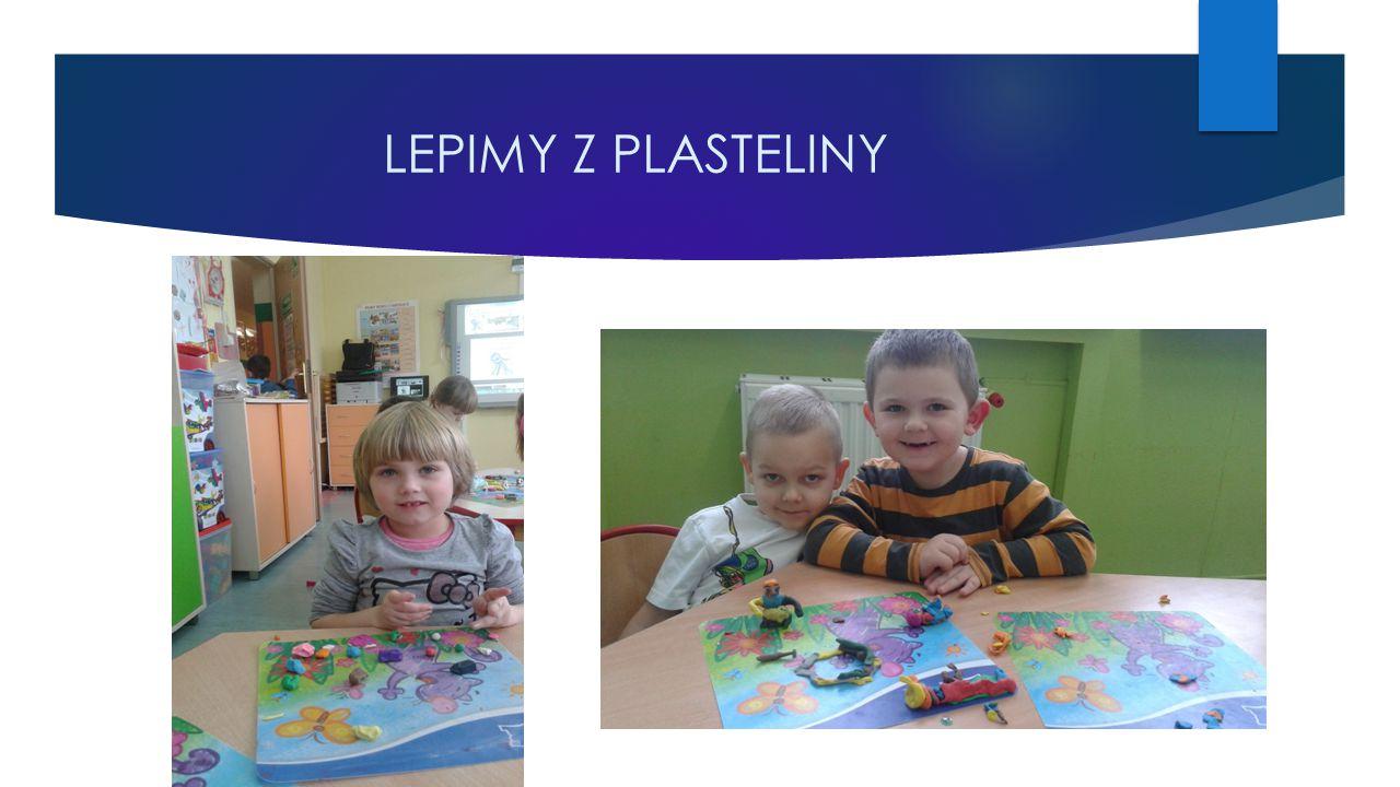 LEPIMY Z PLASTELINY
