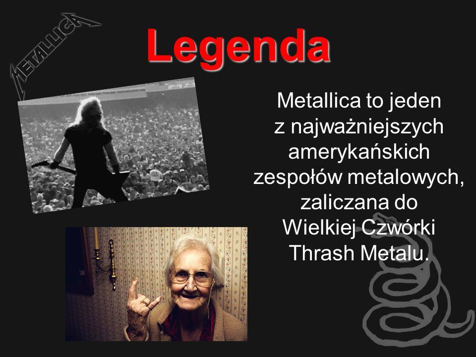 Legenda Metallica to jeden z najważniejszych amerykańskich zespołów metalowych, zaliczana do Wielkiej Czwórki Thrash Metalu.