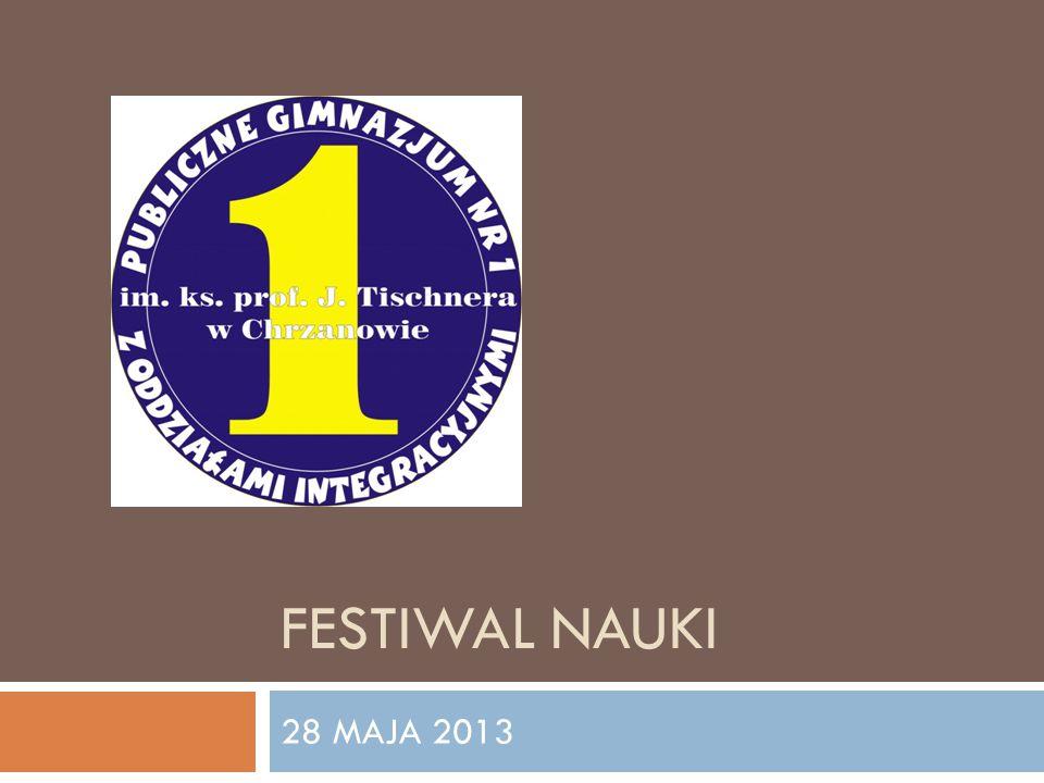 FESTIWAL NAUKI 28 MAJA 2013