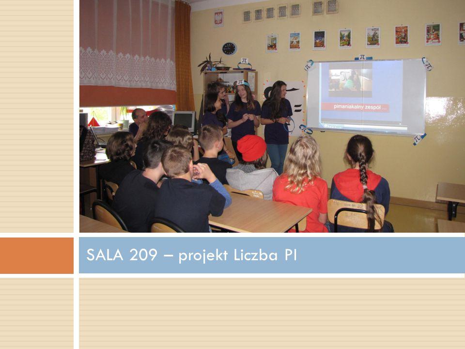 SALA 209 – projekt Liczba PI