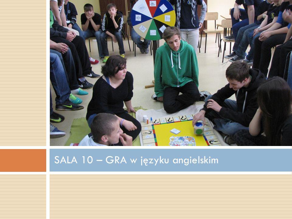 SALA 10 – GRA w języku angielskim