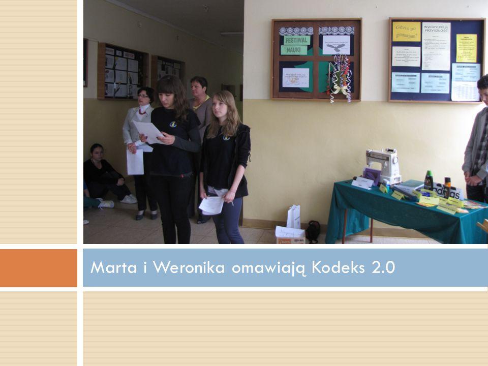 Marta i Weronika omawiają Kodeks 2.0
