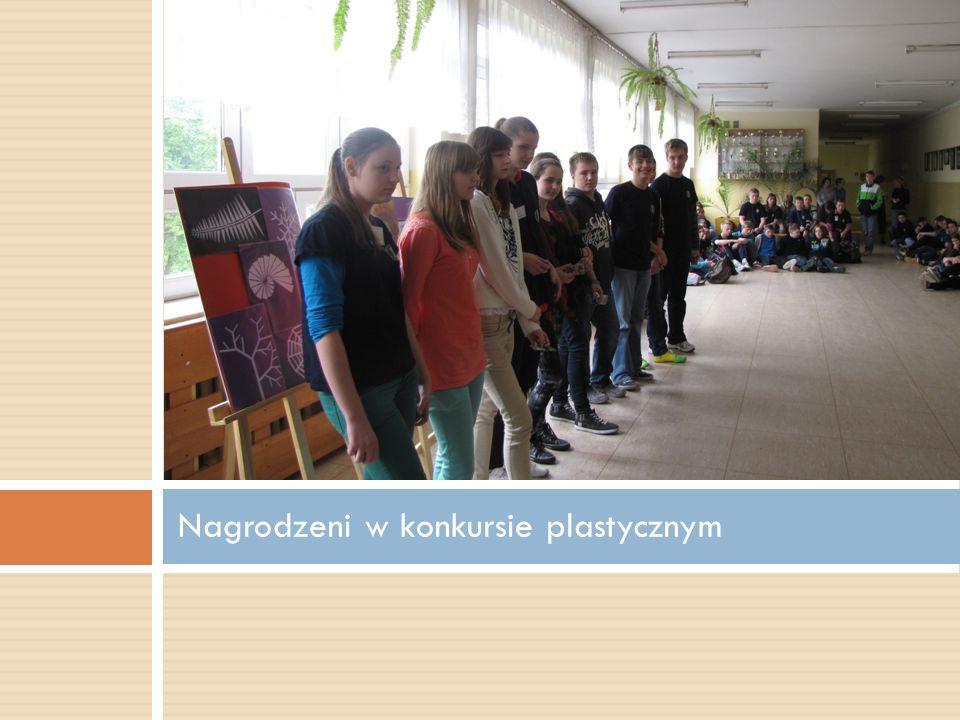 Nagrodzeni w konkursie plastycznym