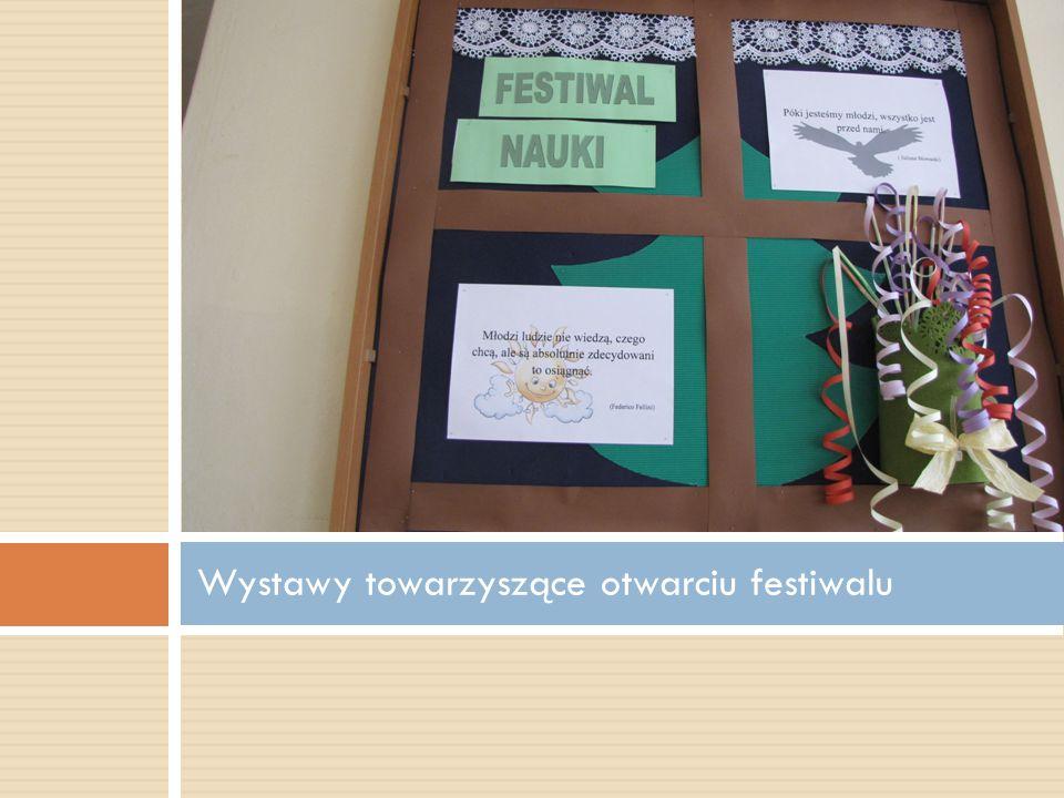 Wystawy towarzyszące otwarciu festiwalu