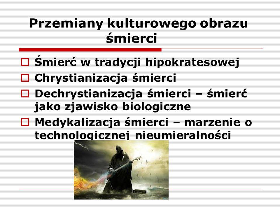 ŚMIERĆ W TRADYCJI HIPOKRATESOWEJ 1.
