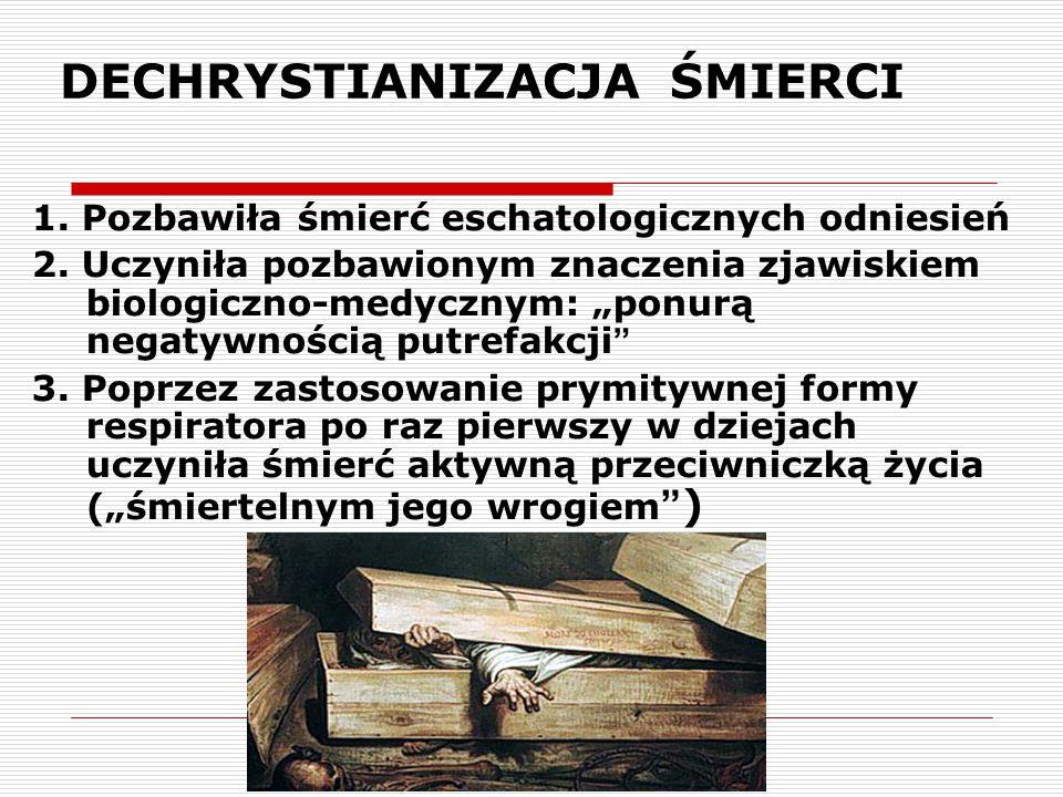 DECHRYSTIANIZACJA ŚMIERCI 4.