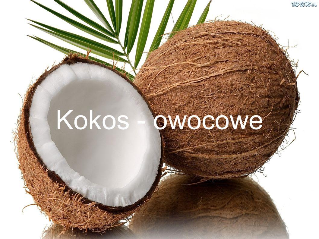 Kokos - owocowe