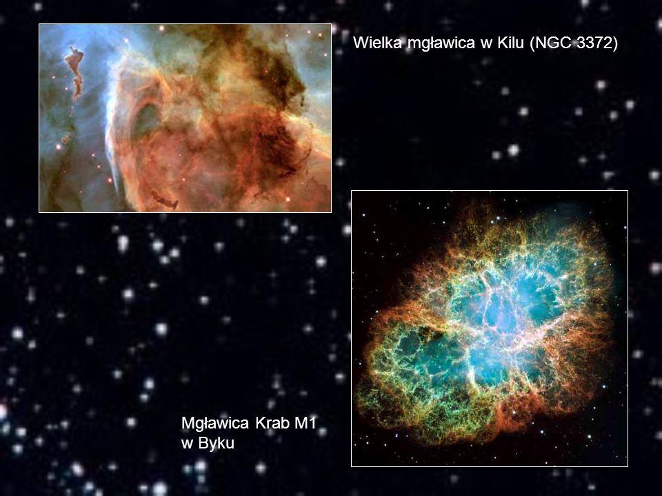 Wielka mgławica w Kilu (NGC 3372) Mgławica Krab M1 w Byku