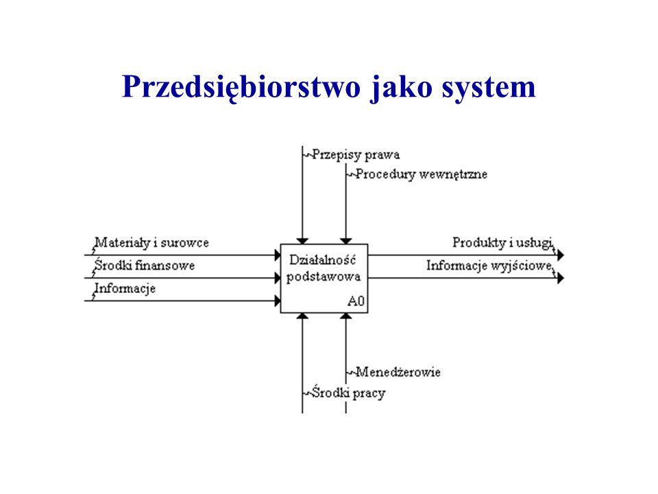 Przedsiębiorstwo jako system