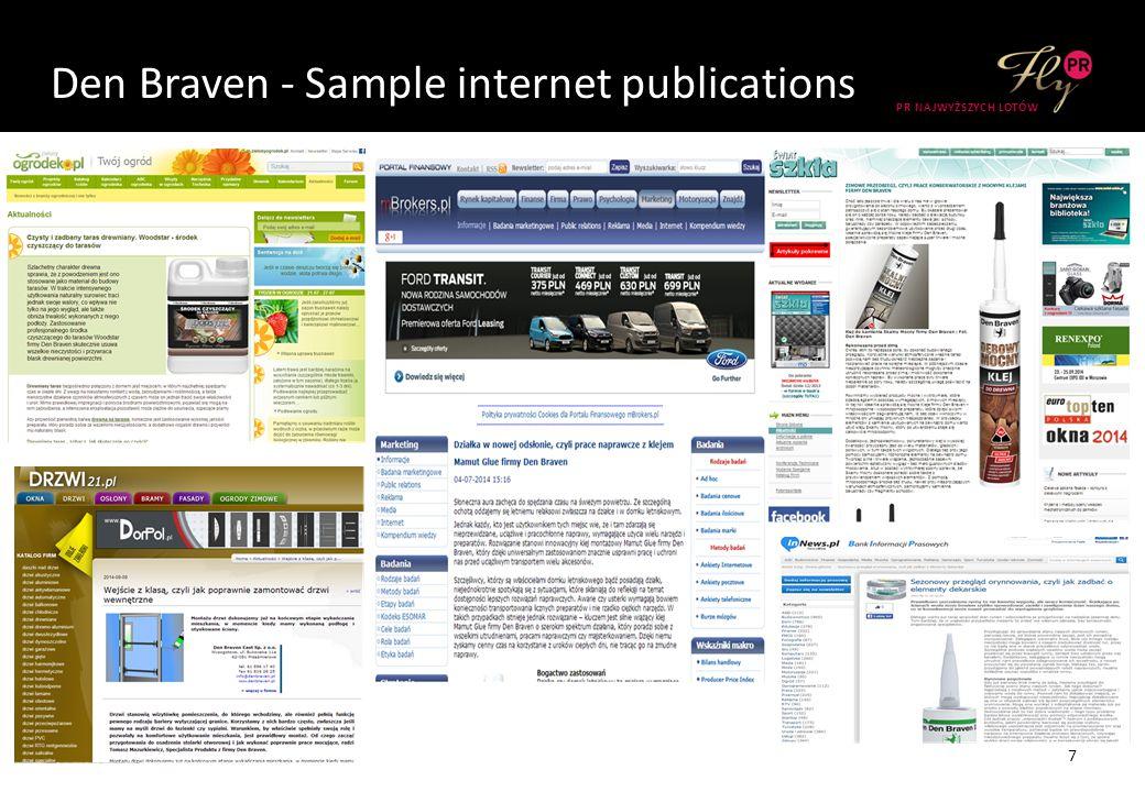 Den Braven - Sample internet publications 7 PR NAJWYŻSZYCH LOTÓW