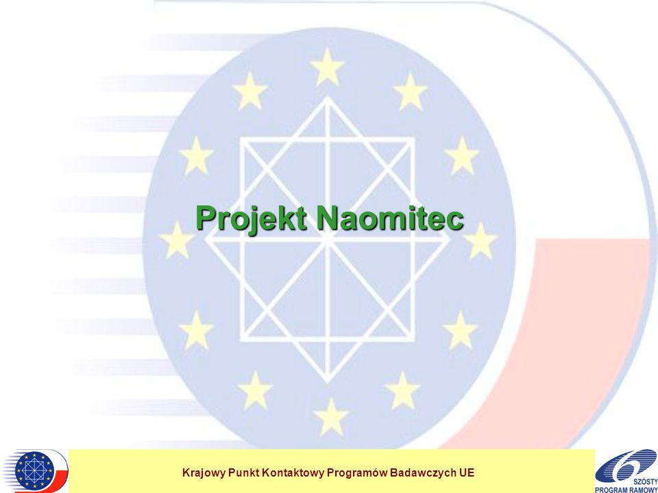 Krajowy Punkt Kontaktowy Programów Badawczych UE Projekt Naomitec
